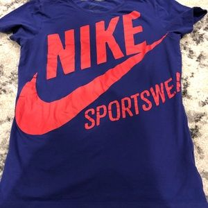 Purple Nike T-shirt